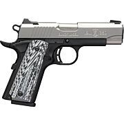 "BG BLACK LABEL PRO 1911-380 CMP .380 3-5/8"" FS S/S 8SH G10"