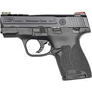 S&W SHIELD M2.0 M&P 9MM PORTED HIVIZ THUMB SAFETY BLACK