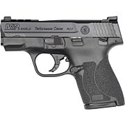 S&W SHIELD M2.0 M&P 9MM PORTED TRITIUM NGT SIGHT THUMB SAFTEY