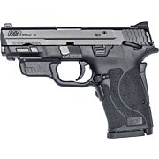 S&W SHIELD M2.0 M&P 9MM EZ BLACK THUMB SAFETY RED LASER