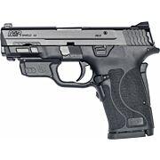 S&W SHIELD M2.0 M&P 9MM EZ BLACK NO SAFETY RED LASER
