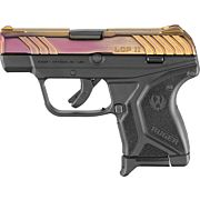 RUGER LCP II .380ACP 6-SHOT FS RED W/SCROLL ENGRAVING (TALO)