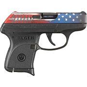 RUGER LCP .380ACP 6-SHOT FS AMERICAN FLAG SLIDE POLYMER