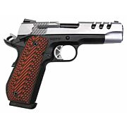 """S&W 1911 PERFORMANCE CENTER .45ACP 4.5"""" TWO TONE G10 GRIPS"""