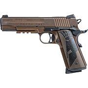 "SIG 1911 .45ACP 5"" SPARTANII NGT SGT .45ACP FDE"