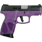 TAURUS G2C 9MM 12-SHOT 3-DOT ADJ. DRK PURPLE FRAME BLK SLDE