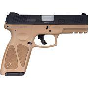 TAURUS G3 9MM 15-SHOT 3-DOT ADJ. TAN/BLACK POLYMER