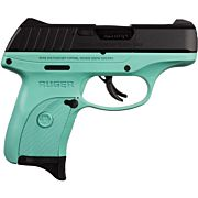 RUGER EC9s 9MM LUGER AS 7-SHOT BLUED SLIDE/TURQUOISE FRAME