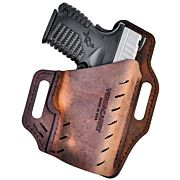 VERSACARRY GUARDIAN OWB W/FLX VENT RH LEATHER SIG P365 BROWN