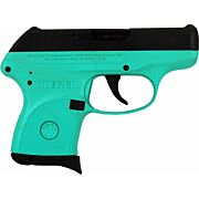 RUGER LCP .380ACP 6-SHOT FS BLUED/SLD TURQUOIS FRM (TALO)