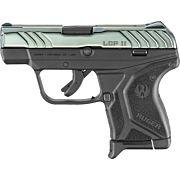 RUGER LCP II .380ACP 6-SHOT FS COLBALT BLUE W/SCROLL ENGRAVIN