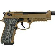 GIRSAN REGARD 9MM ADJ SGT. 18-SHOT FDE THREADED BARREL