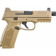 FN 509 TACTICAL 9MM LUGER 3-10RD NS FDE/FDE
