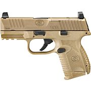FN 509 COMPACT MRD 9MM LUGER 2-10RD FDE