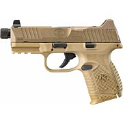 FN 509 COMPACT TACTICAL 9MM 1-24RD/15RD/12RD NS FDE/FDE