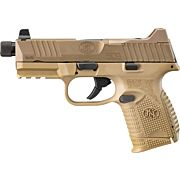 FN 509 COMPACT TACTICAL 9MM 3-10RD NS FDE/FDE