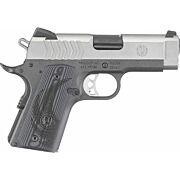 RUGER SR1911 9MM FS 8-SHOT LIGHTWEIGHT OFFICER  2-TONE