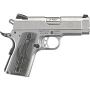 RUGER SR1911 .45ACP FS 7-SHOT OFFICER STAINLESS G10 GRIPS