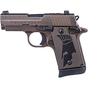 SIG P938 SPARTAN 9MM NIGHT SIGHT 7-SH DISTRESSED COYOTE