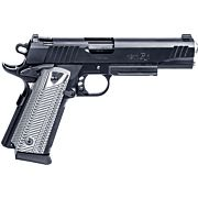 "REM 1911R1 TACTICAL .45ACP 5"" 15-SHOT NS BLACKENED S/S G10"