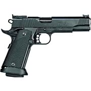 "REM 1911R1 LIMITED .40S&W 5"" AS 18-SHOT BLACKENED S/S G10"