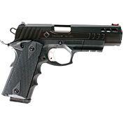 "ATI HGA FXH-45 HYBRID .45ACP 4.25"" FS 8RD BLACK POLYMER"