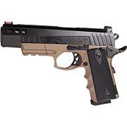 "ATI HGA FXH-45 HYBRID .45ACP 5"" FS 8RD FDE/BLACK POLYMER"
