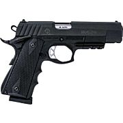 "ATI HGA FXH-45 HYBRID .45ACP 5"" FS 8RD BLACK POLYMER MOXIE"