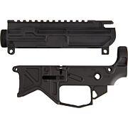 BATTLE ARMS AR15 LIGHTWEIGHT LOWER/UPPER RECEIVER SET BLK