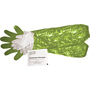 HME GAME CLEANING GLOVE COMBO SHOULDER & WRIST W/TOWLETTE