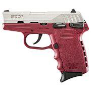 SCCY CPX1-TT PISTOL DAO 9MM 10RD SS/CRIMSON SAFETY