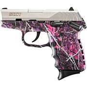 SCCY CPX1-TT PISTOL DAO 9MM 10RD SS/MUDDY GIRL SAFETY