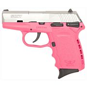 SCCY CPX1-TT PISTOL DAO 9MM 10RD SS/PINK MANUAL SAFETY