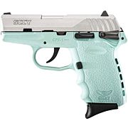 SCCY CPX1-TT PISTOL DAO 9MM 10RD SS/SCCY BLUE SAFETY
