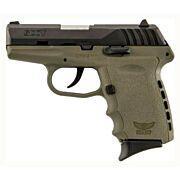 SCCY CPX2-CB PISTOL DAO 9MM 10RD BLACK/FDE W/O SAFETY