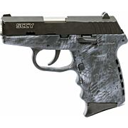 SCCY CPX2-CB PISTOL DAO 9MM 10RD BLK/TYPHON W/O SAFETY