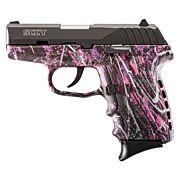 SCCY CPX2-CB PISTOL DAO 9MM 10RD BLK/MUDDY GIRL W/O SAFET