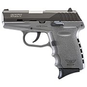 SCCY CPX2-CB PISTOL DAO 9MM 10RD BLK/SNIPER GRAY W/O SAFE