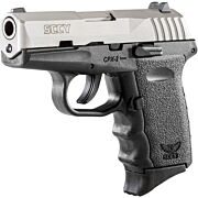 SCCY CPX2-TT PISTOL DAO 9MM 10RD SS/BLACK W/O SAFETY