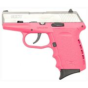 SCCY CPX2-TT PISTOL DAO 9MM 10RD SS/PINK W/O SAFETY