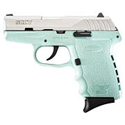 SCCY CPX2-TT PISTOL DAO 9MM 10RD SS/SCCY BLUE W/O SAFETY