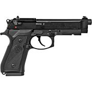 """BERETTA M9A1 .22LR 5.3"""" FS 15-SH W/RAIL M.BLACK POLYMER"""