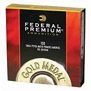 FED PRIMERS- SMALL PISTOL GOLD MEDAL MATCH 5000PK