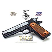 "COLT 1991 45ACP 5"" FS 7-SHOT BLUED SERIES 70 (TALO)"