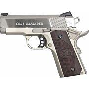 "COLT DEFENDER .45ACP FS 3"" ALLOY/SS G10 BLACK CHERRY"