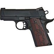 """COLT DEFENDER .45ACP 3"""" FRONT NGT SGT 7-SHOT ALLOY/BLUE G10"""