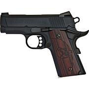 """COLT DEFENDER 9MM 3"""" FRONT NGT SGT 7-SHOT ALLOY/BLUED G10"""