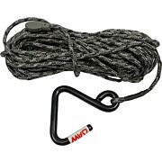 HAWK HOIST ROPE W/JAW HOOK