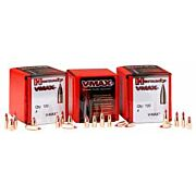HORNADY BULLETS 22 CAL .224 55GR V-MAX W/CANNELURE 100CT