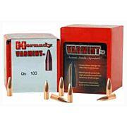 HORNADY BULLETS 22 CAL .224 55GR JSP W/CANNELURE 100CT